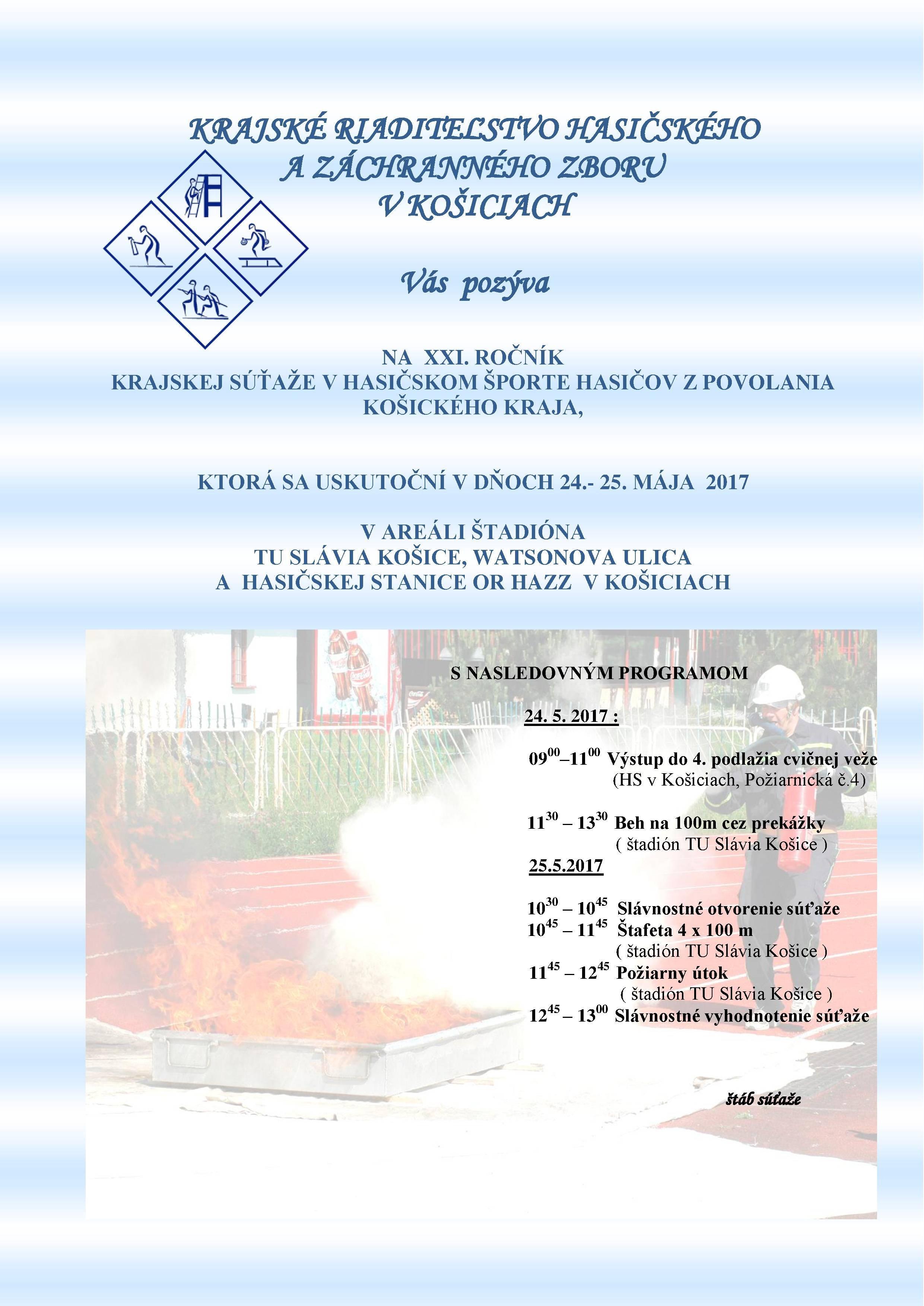 7140afb5e Krajská súťaž hasičských jednotiek Košického kraja v hasičskom športe